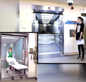 hospital lift elevators